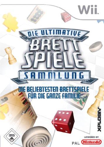Die ultimative Brettspiele-Sammlung - Die beliebtesten Brettspiele für die ganze - Wii Die Familie Spiele Nintendo Für