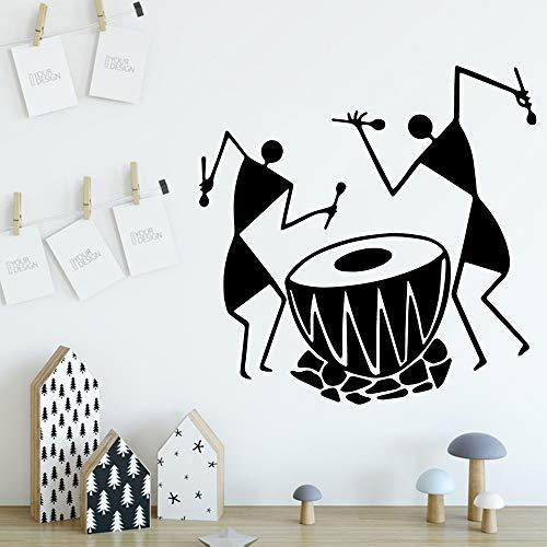 caowenhao Musik wandaufkleber tapete Vinyl abnehmbare raumdekoration kinderzimmer Wohnzimmer Dekoration schwarz M 28 cm X 28 cm