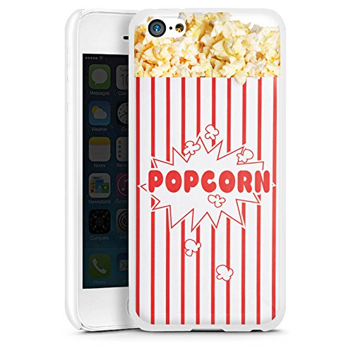Hülle kompatibel mit Apple iPhone 5c Handyhülle Case Popcorn Kino Design - Iphone 5c Case-kino