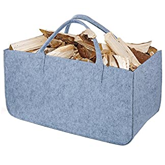 Diealles Firewood Bag Newspaper Handbag Shopping Hand Bag