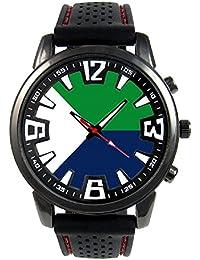 El Hierro Islas Canarias España Reloj para hombre con correa de silicona