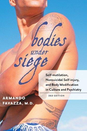 Descargar Libro [ BODIES UNDER SIEGE: SELF-MUTILATION, NONSUICIDAL SELF-INJURY, AND BODY MODIFICATION IN CULTURE AND PSYCHIATRY ] Bodies Under Siege: Self-Mutilation, Nonsuicidal Self-Injury, and Body Modification in Culture and Psychiatry By Favazza, Armando R. ( Author ) May-2011 [ Paperback ] de Armando R. Favazza