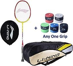 Li Ning Smash XP 807 Badminton Racket with Kitbag