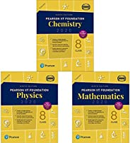 Pearson IIT Foundation Series Class 8 Combo (Set of 3 Books)