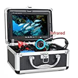 EYOYO 7Inch Monitor 30m Infrared Fish Finder Underwater Ice Fishing HD 1000TVL Camera with Fish Shape