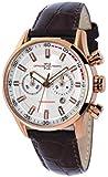 Montre  Officina del Tempo  - Affichage Analogique bracelet   et Cadran  OT1033-13000AGM_Argento