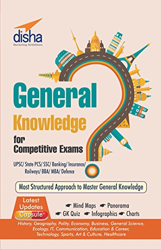 General Knowledge for Competitive Exams - UPSC/State PCS/SSC/Banking/Insurance/Railways/BBA/MBA/Defence