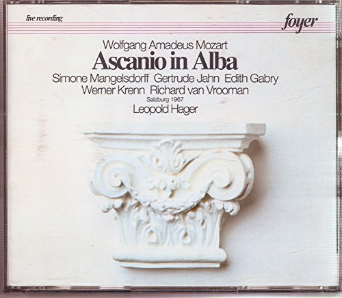 Mozart:Ascanio In Alba/Mass In C