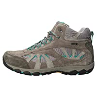 Mountain Warehouse Summit Womens Boots - IsoGrip Ladies Shoes, Suede & Mesh Upper Ladies Rain Boots, Waterproof Walking Shoes - for Trekking, Travelling, Hiking