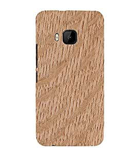 99Sublimation Wooden Curve Background 3D Hard Polycarbonate Back Case Cover for HTC One M9