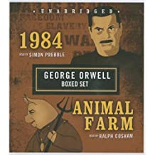 George Orwell Boxed Set (1984 and Animal Farm) by George Orwell (2007-09-03)