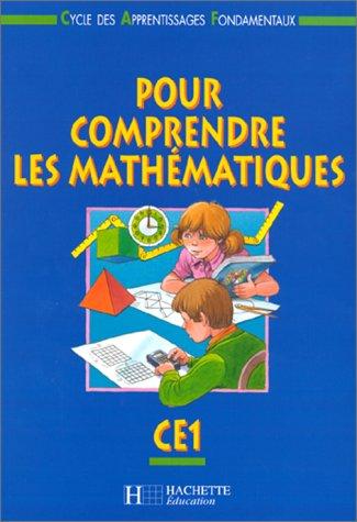 Comprendre les mathématiques, CE1, fichier élève, 1999 par Debu, Blanc, Bramand, Gely
