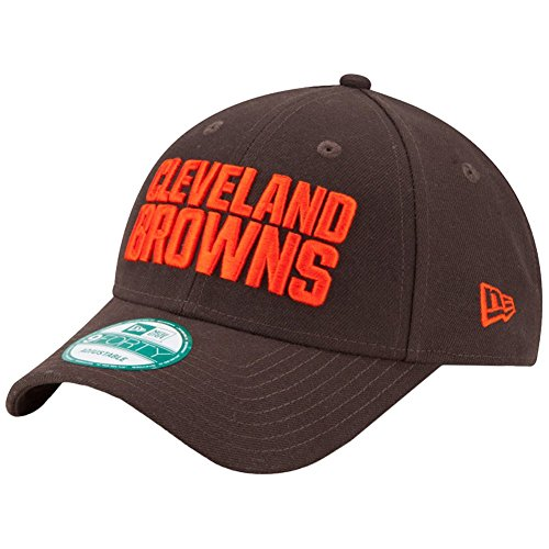 New Era Herren Baseball Cap the League 9Forty Cleveland Browns Offical Team Colour Braun (Brown), One size (Original Baseball Trikot)