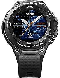 Casio wsd-f20bk Bluetooth Black Sport Watch–Sport reloj (Black, Water resistant, 50m, Climbing, Cycling, Fishing, Running, 12h/24h, 4000MB)