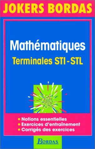 JOKE.014 MATHS STI-STL NP 96 (Ancienne Edition)