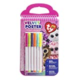 Best Darice Pens - Beanie Boos Velvet Coloring Book W/6 Markers Review