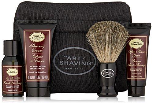 The Art of Shaving - Starter Kit With Bag Sandalwood