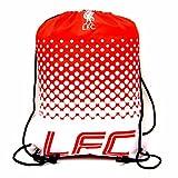 Liverpool FC Fußball Wappen Design Fade Turnbeutel (Einheitsgröße) (Rot/Weiß)