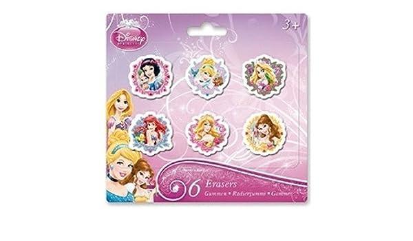 Disney Minnie Mouse Radiergummi-Set 6 Radiergummis in verschiedenen Formen