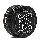 •TESTSIEGER 1,1• Charlemagne Premium Beard Balm - Verbesserte Rezeptur - 100% natürliches Bart Balsam/Bart-Wachs - Bart-Creme und Bart-Balm für Bartpflege - Bart-Pomade und Bart-Wichse für Herren