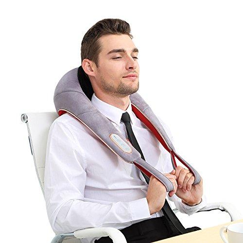 ZHFC-schulter - nacken - massage, schals, kneten, schulter, wirbel, zurück, um den hals heizung, multifunktions - massagegerät, elektro - muttertag geschenk