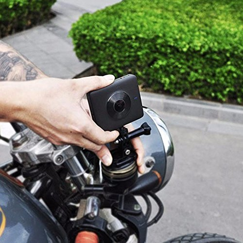 Cámara panorámica Mijia 360 3.5K Grabación de vídeo 6 Ejes Anti-vibración 23.88MP (Color: Negro)