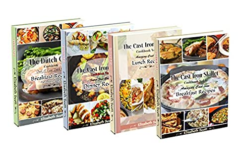 Amazing Simple&Healthy Special kitchen Appliance box set: 190+ Cast Iron(Vols.1-3),Slow cooker, Dutch Oven,Breakfast,Lunch and Dinner