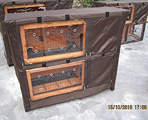 Hutch Cover For The Bb-41-dh-11 by BUNNY BUSINESS