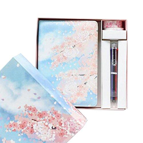 Im japanischen Stil Schreiben Notebook Skizzenbuch Reisetagebücher Tagebuch Geschenk -A8