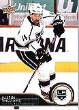 2014 /15 Upper Deck Hockey Card # 335 Justin Williams - Los Angeles Kings