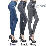 Zlimmy 3 X Slim Caresse Jeans Skinny Jeggings Shapewear Slimming Control[L/XL]