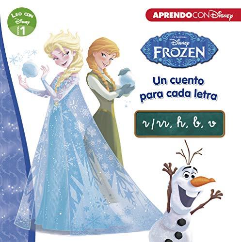 Frozen. Un cuento para cada letra: r/rr, h, b, v (Leo con Disney - Nivel 1)