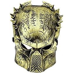 Inception Pro Infinite Alien Vs Predator Máscara - Bronze Color - Hombre - Mujer - Carnival - Halloween