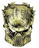 Inception Pro Infinite Alien Vs Predator Mask - Bronzefarbe - Mann - Frau - Karneval - Halloween