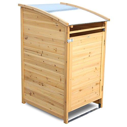 *Habau 3151 Mülltonnenbox 240 Liter, 81 x 92 x 124 cm*