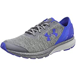 Under Armour UA Charged Escape, Zapatillas de Running para Hombre, Gris (Glacier Gray), 41 EU