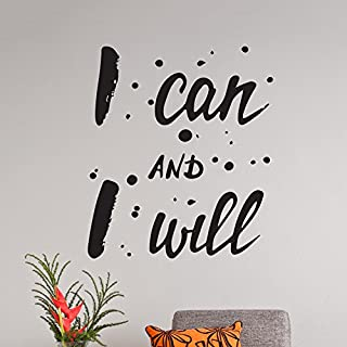Wall Quote Motivational Home Wall Decor Vinyl Gym Sticker Decal Mural Art Inspire