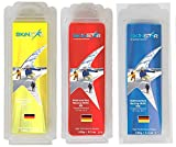 SkinStar Hydrocarbon Racing Skiwax Profi-Wachs Mix Yellow-Red-Blue 375g