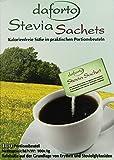 Daforto Stevia Sachets, 100 Portionsbeutel, 1er Pack (1 x 100 g)
