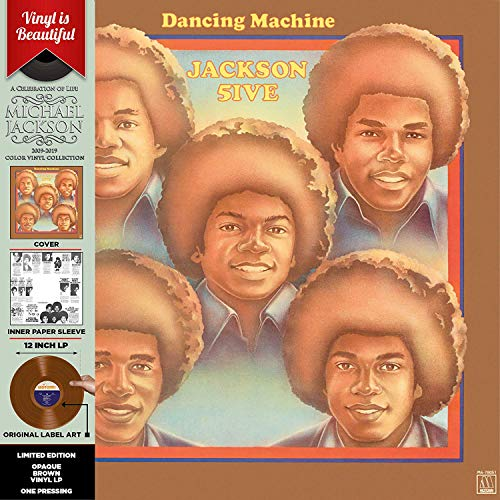 Dancing Machine (Brown Vinyl) [Vinyl LP] (5-dancing Machine Jackson)
