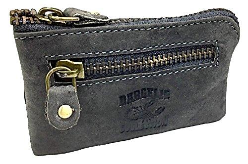 Vintage Schlüsseltasche Schlüsseletui Schlüsselmäppchen Leder Muster 3 Muster 5