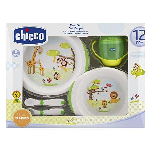 Chicco 068330 - Set Pappa 12 mesi+, Verde