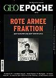 GEO Epoche (mit DVD) / GEO Epoche mit DVD 72/2015 - Rote Armee Fraktion: DVD: Black Box BRD -