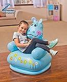 #8: Zomaark Intex Inflatable Animal Air Chair For 3-8 Years Kids (Blue)