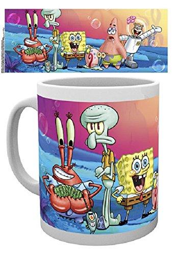 GB Eye Gruppe Spongebob Becher, Mehrfarbig