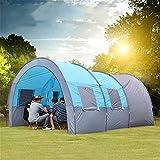 FGKING Tente Camping Familial, Pop Up Tente instantanée, 8 Personnes Tente de Camping imperméable à l'eau, Tente Automatique Pop-up pour extérieur, Randonnée, Voyages, randonnée