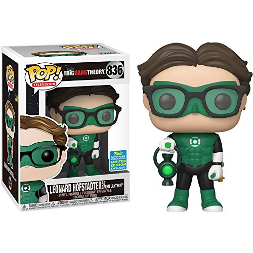 Funko Pop! Limited Edition 2019 Summer Convention Exklusiv in limitierter Auflage - Vinylfigur Leonard Hofstadter The Big Bang Theory (41708) - Funko Pop Big Bang