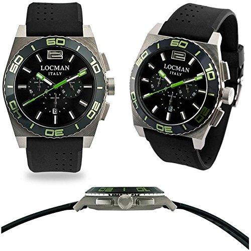 Locman 021200KG-BKKSIK Reloj de pulsera para hombre