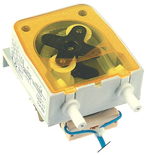 SEKO PG0.4 Dosiergerät für Spülmaschine Meiko FV40.2 für Klarspüler 0,4l/h Schlauchanschluss 4x6mm 230V Schlauchpumpe D