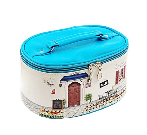Household Essentials Toilettage Voyage Cosmetic Bag PU Maquillage Organisateur
